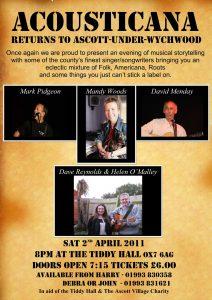 Acousticana April 2nd 2011