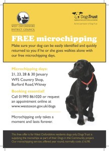 Dog chipping - Witney
