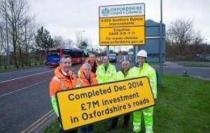 Transport Improvement Works December 2014