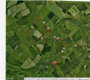 Ascott 10 km Route 2015