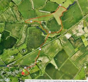 Ascott 5 km Route 2015
