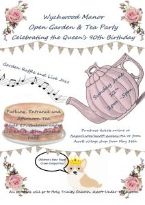 Wychwood Manor Open Garden 2016 & Tea Party Celebrating the Queen's 90th Birthday