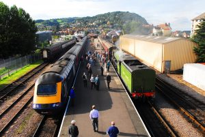 CLPG's 2017 charter train links the Cotswolds with the Somerset coast