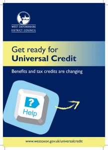 WODC: Get ready for Universal Credit